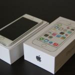 docomo版iPhone5S シルバー64GB買ってきました