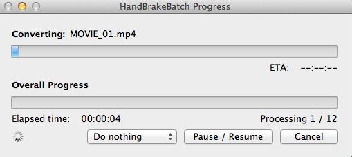 Handbrake batch 07