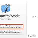 Xcode5.1 でボタンを配置する方法