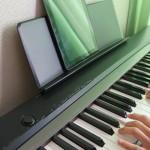 くろさるのピアノ練習「1週間目」