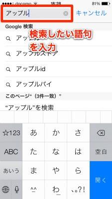 Safari search 010