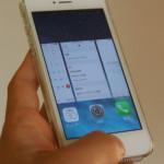 iPhone のホームボタンのダブルクリックの間隔を調整する方法