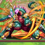 [パズドラ]「炎の蟲龍 鎌蟲龍」超級を闇耐久でノーコンクリア[無課金攻略]