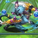 [パズドラ無課金攻略]水の猫龍藍猫龍超地獄級を赤ソニアでノーコンクリア!