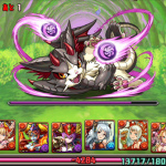 [パズドラ無課金攻略]闇の猫龍「八猫龍」超地獄級を覚醒ミネルヴァで行ってきた!