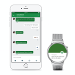 iPhone で Android Wear が使用可能に!iPhone5以降が対応です!