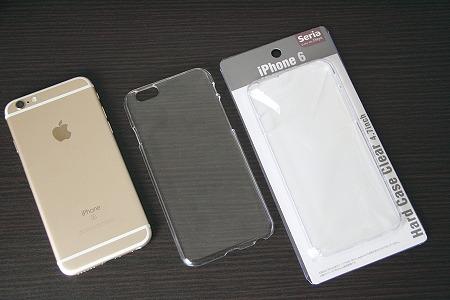 0612254be8 iPhone用のケースが結構ぼろぼろになってきたので、100円ショップのセリア(SERIA)でクリアハードケースを買ってきました。